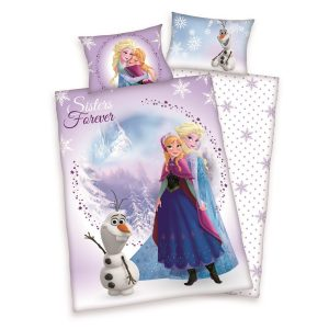 Herding Detské bavlnené obliečky do postieľky Frozen Sister Forever