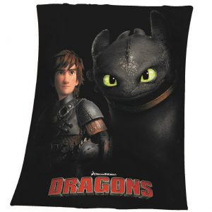 Herding Detská deka Ako vycvičiť draka Bezzubka