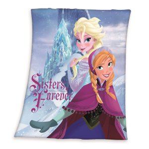 Herding Detská deka Ľadové kráľovstvo Frozen Sisters forever