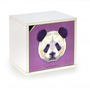 Skrinka Aero Panda (vzor panda)