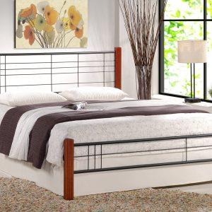Manželská posteľ 160 cm Viera (s roštom)
